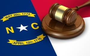 North Carolina Law Legal System Concept