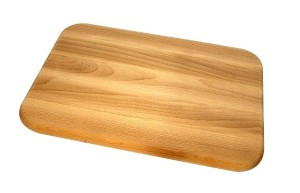 Flat as this board, but softer.