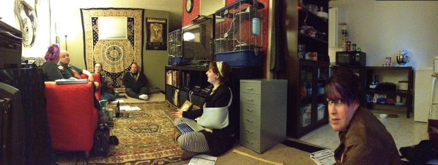 Bad panorama of a recent gaming group.