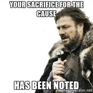 sacrificenoted