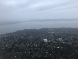 Flying out of Seattle